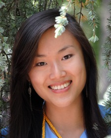 Graduate student Lucy Liu, B.S.