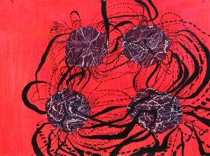 Artist Interpretation of DNA superloops. (Guhapriya Ranganathan)