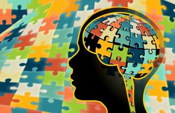 Researchers have used DNA sequencing to uncover dozens of genes that heighten the risk for autism spectrum disorder. Credit: Darryl Leja, National Human Genome Research Institute.